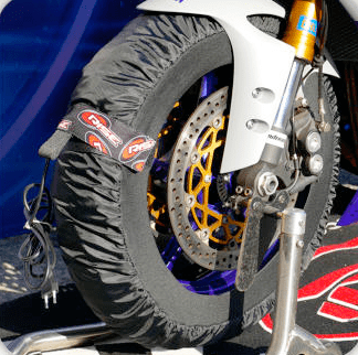 Couverture Chauffante pour Moto